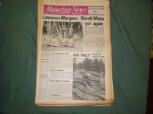 MOTORING NEWS 1972 November 30,Springbok,Chevron,RAC Preview, Shenstone Rally